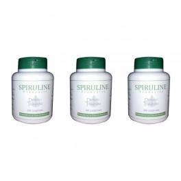3 boites Spiruline 200 comprimés